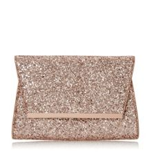 Head Over Heels Begonia foldover clutch bag