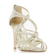 Dune MEDIA CAGED MESH STRAPPY SANDALS
