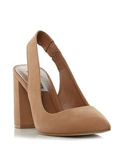 Dove sm slingback court shoes