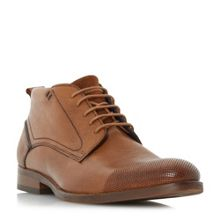 Bertie Conga perforated casual lace up boots