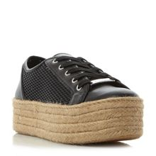 Steve Madden Mars sm perforated lace up trainers