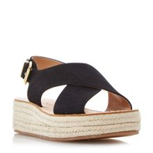 Head Over Heels Kimbly cross strap flatform sandals