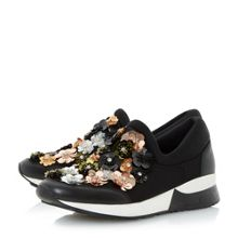 Dune Elecktra embellished runner shoes