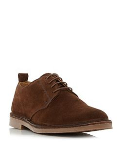 Mojave* contrast stitch derby shoes
