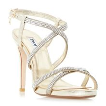 Dune Mansionn strappy jewelled high heel sandal