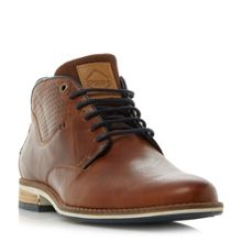 Dune Chambers multi-colour sole chukka boot