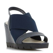 Linea Comfort Ketton elastic high wedge