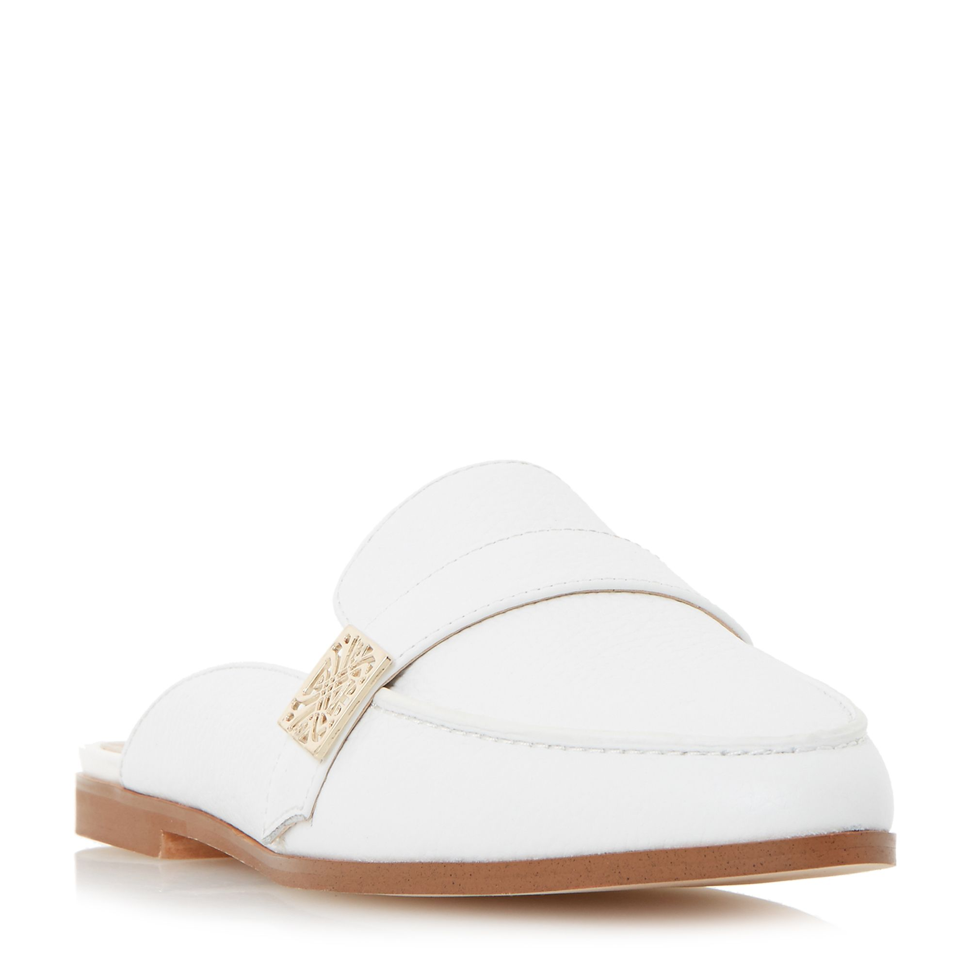Biba Biba Gisela backless loafer, White