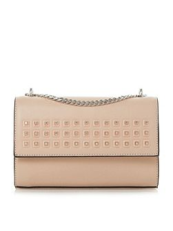 Dazer studded chain shoulder bag
