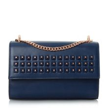 Dune Dazer studded chain shoulder bag