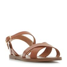 Dune Laila cross vamp flat sandals