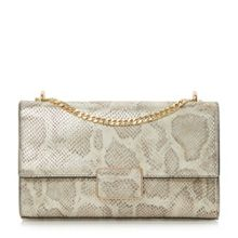 Dune Driya rectangular trim flap over shoulder bag