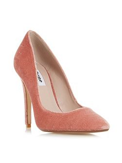 Aiyana Pointed Toe High Heel Court Shoes