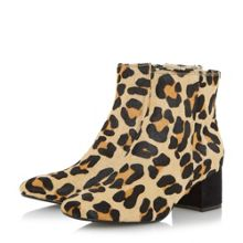 Dune Packham low block ankle boots
