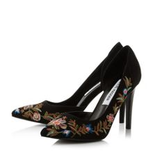 Steve Madden Adoria sm embroidered court shoes