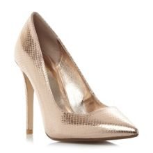 Dune Aiyana wide fit pointed high court shoes