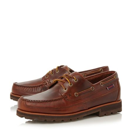 Sebago Vershire cleated sole boat shoes