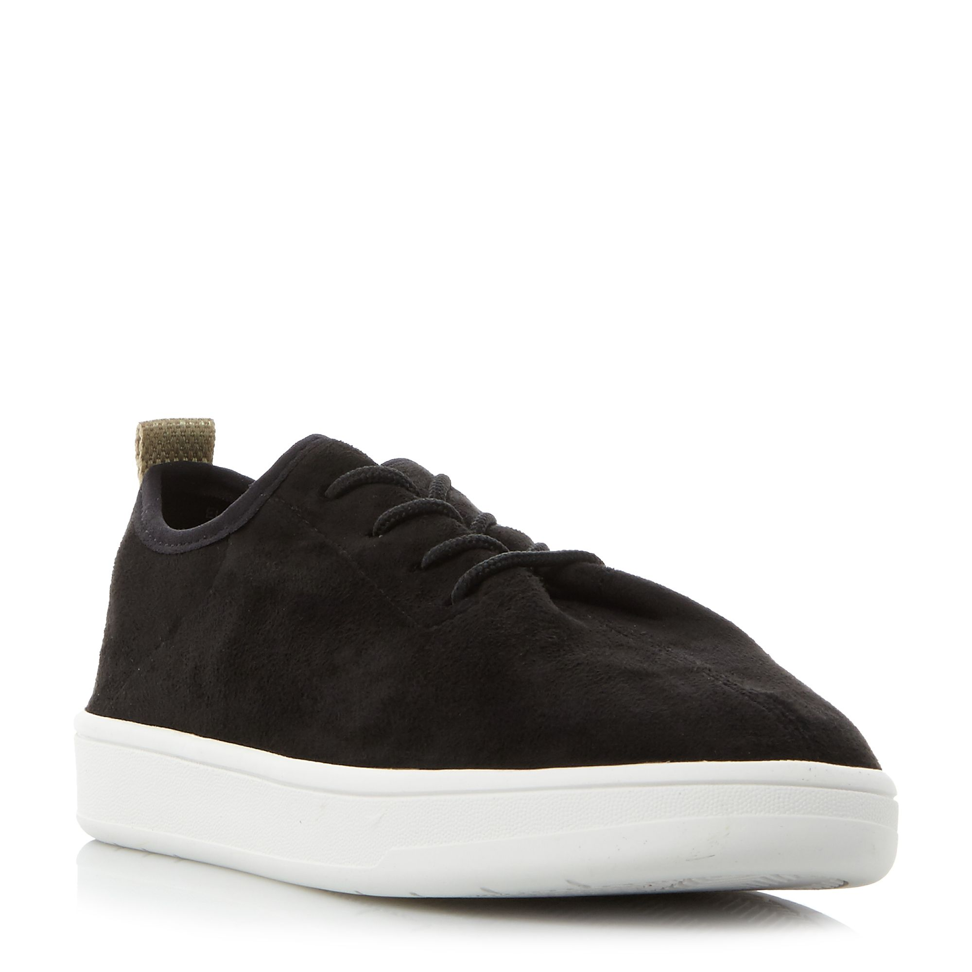 Steve Madden ELEXA SM LACE UP TRAINERS, Black