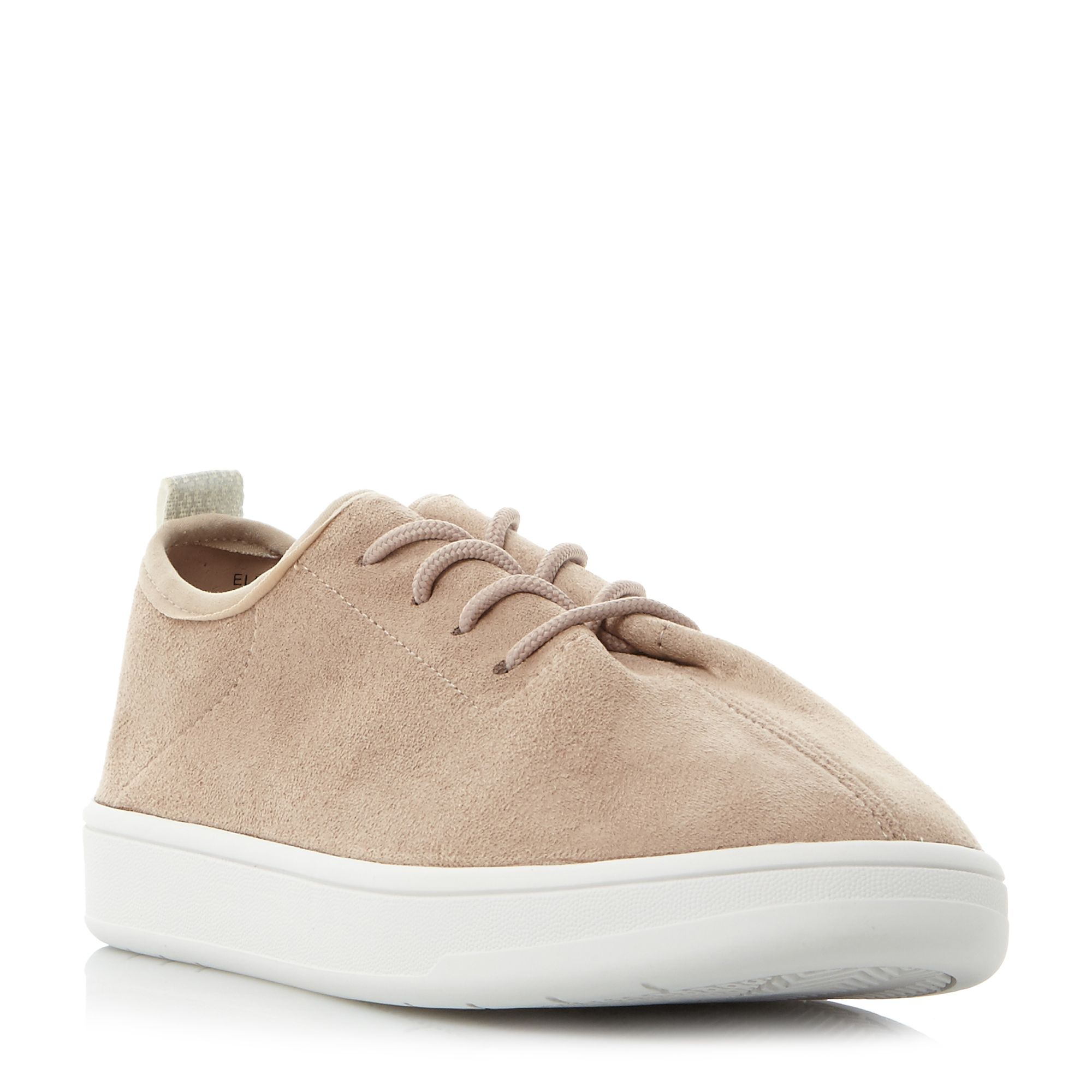 Steve Madden ELEXA SM LACE UP TRAINERS, White
