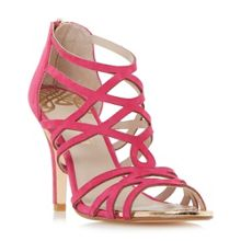 Dune MAURA LASERCUT HIGH DRESSY SANDALS