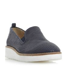 Dune Guise flatform slip on loafers