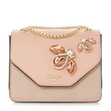 Dune Elady jewel bug embellished evening bag