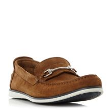 Dune Bronn casual snaffle loafer