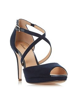 Marly cross strap platform sandals