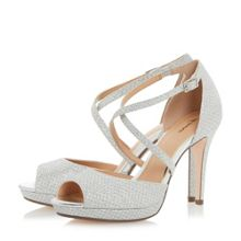 Linea Marly cross strap platform sandals