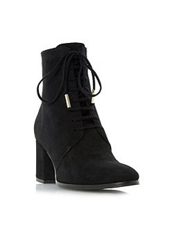Olita lace up block heel ankle boots