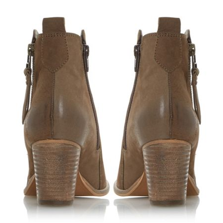 Dune W PONTOON  Stacked Heel Ankle Boots