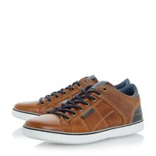 Dune Tobey 1  leather and suede trainers