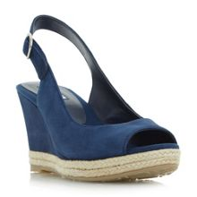 Dune KLICK SLINGBACK WEDGE SANDALS