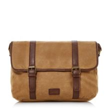 Dune Nicolson waxed canvas bag