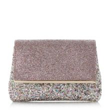 Dune Beautify glitter clutch