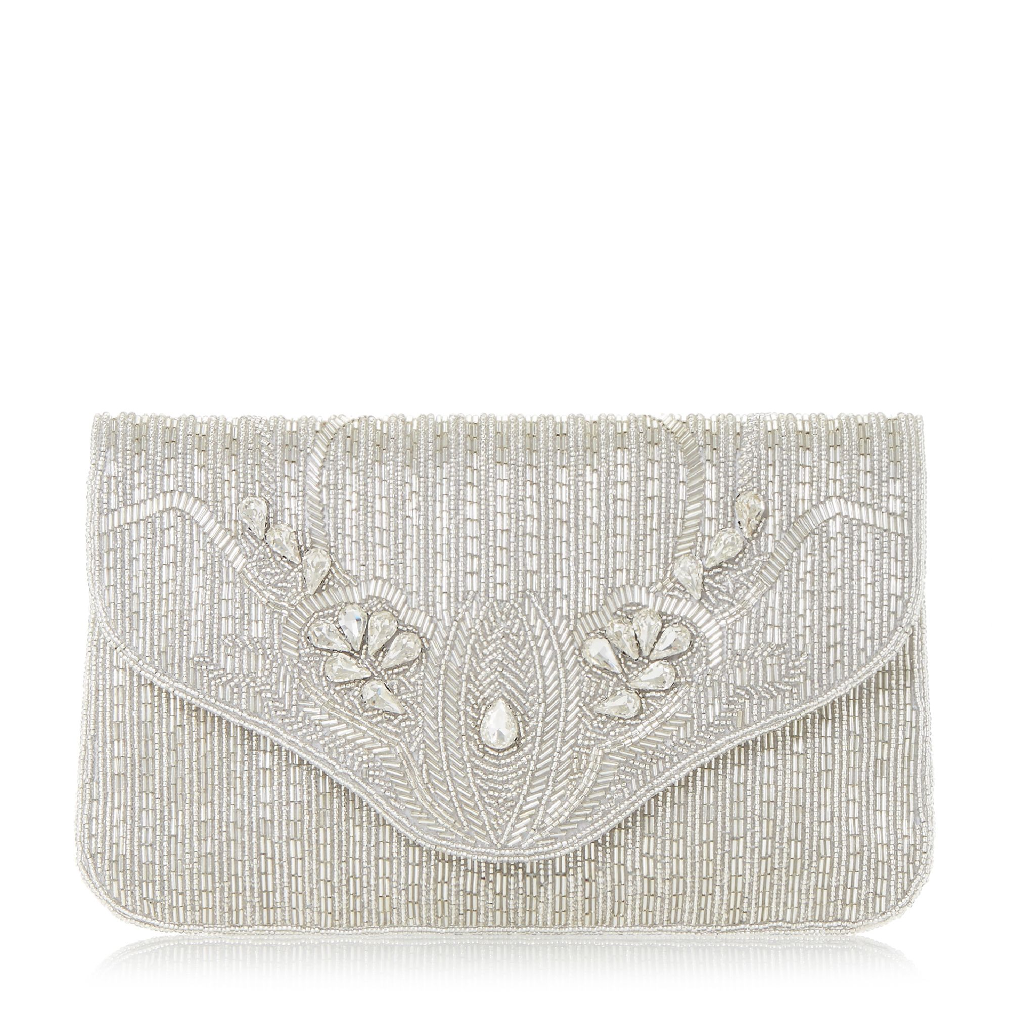 Silver Wedding / Evening Women's Clutch. Gorgeous Rhinestone Flower Rhinestone Clutch. You can even buy the cheap clutches online and you can avail them easily. You can use them anytime when you go out and especially if you carry them during the parties, then they add a sense of vigor to your personality. These clutch bags for women are.