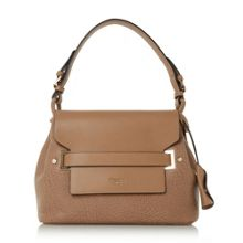 Dune Derrani large casual foldover bag