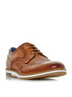 Baker hill wedge sole brogue shoes