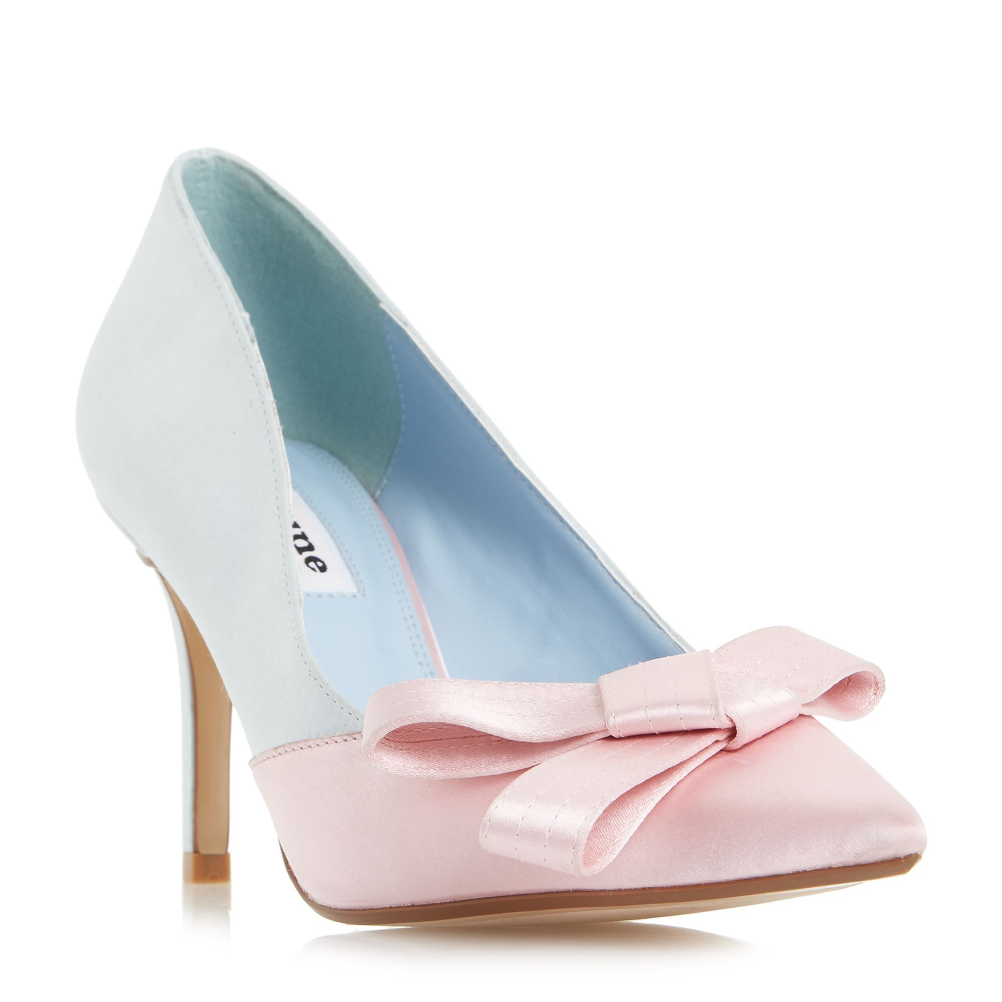 Dune Buds Rose Heel Court Shoes