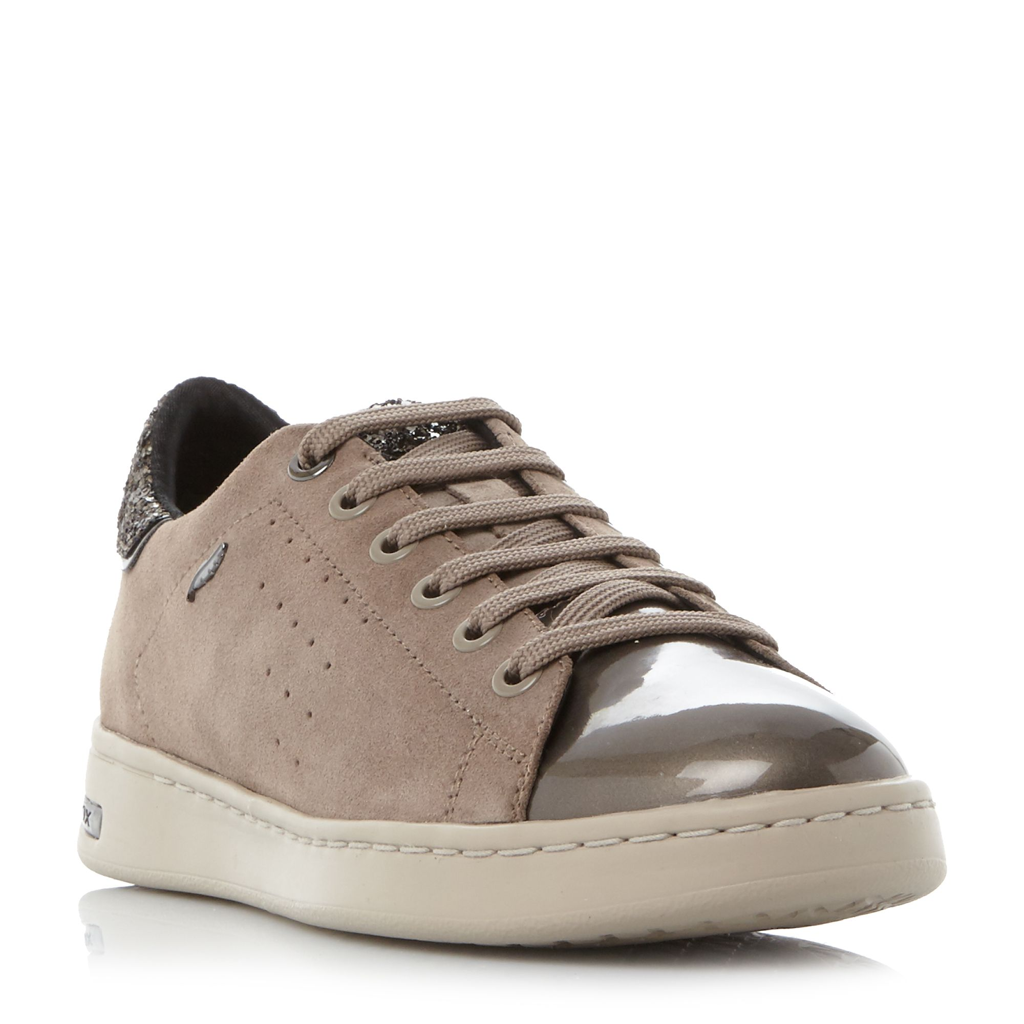 Geox Jaysen Cupsole Trainers, Taupe