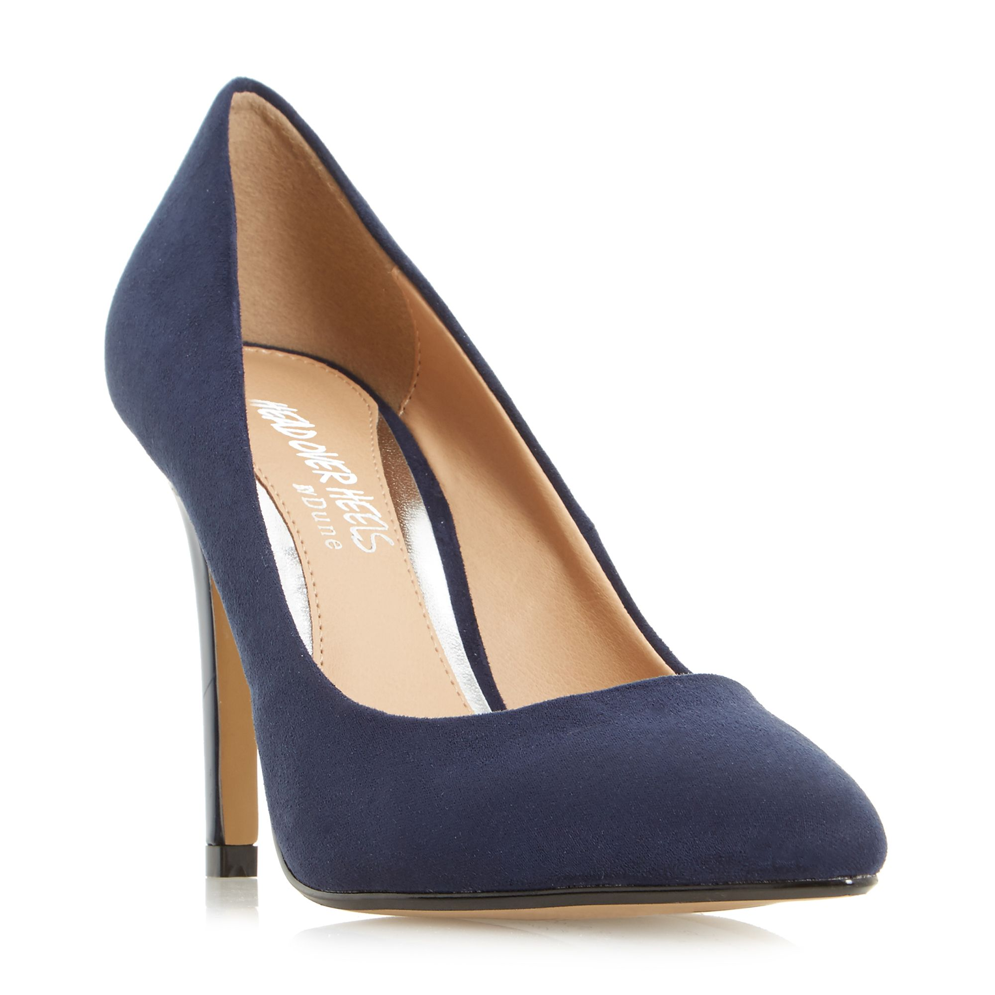 Head Over Heels Alice Pointed Toe High Heel Court Shoes, Blue