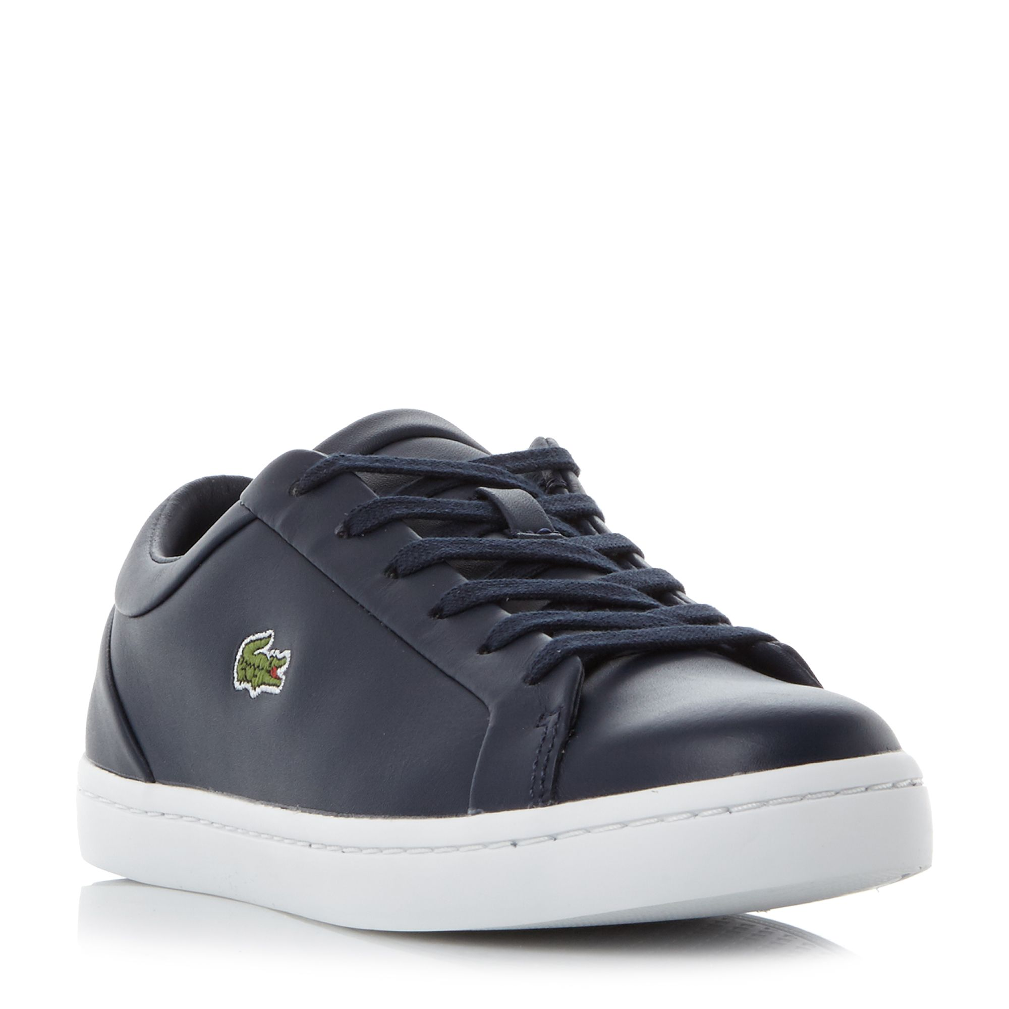 Lacoste Straightset Lac Cupsole Sneakers, Blue