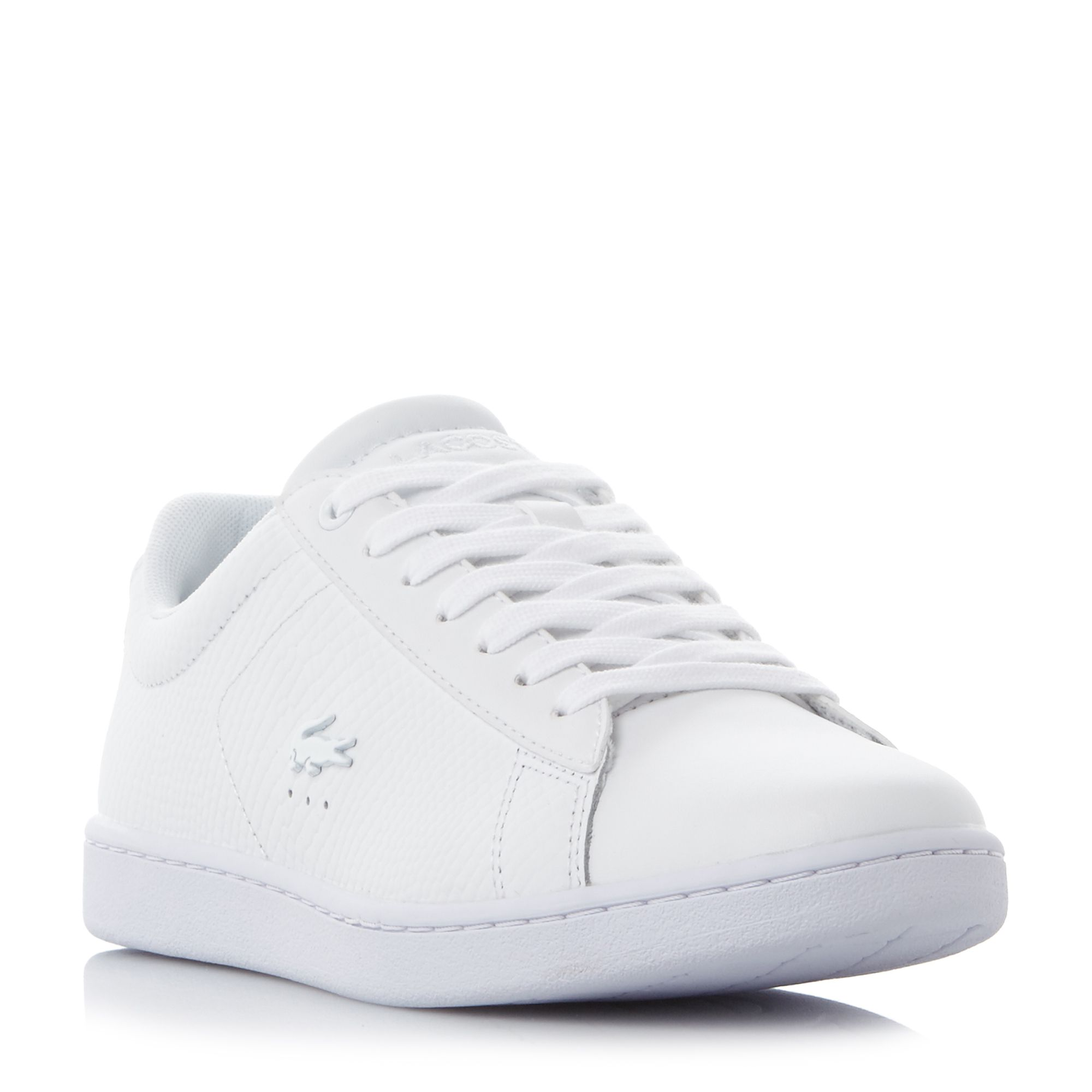 Lacoste Carnaby Evo Croc Logo Sneakers, White