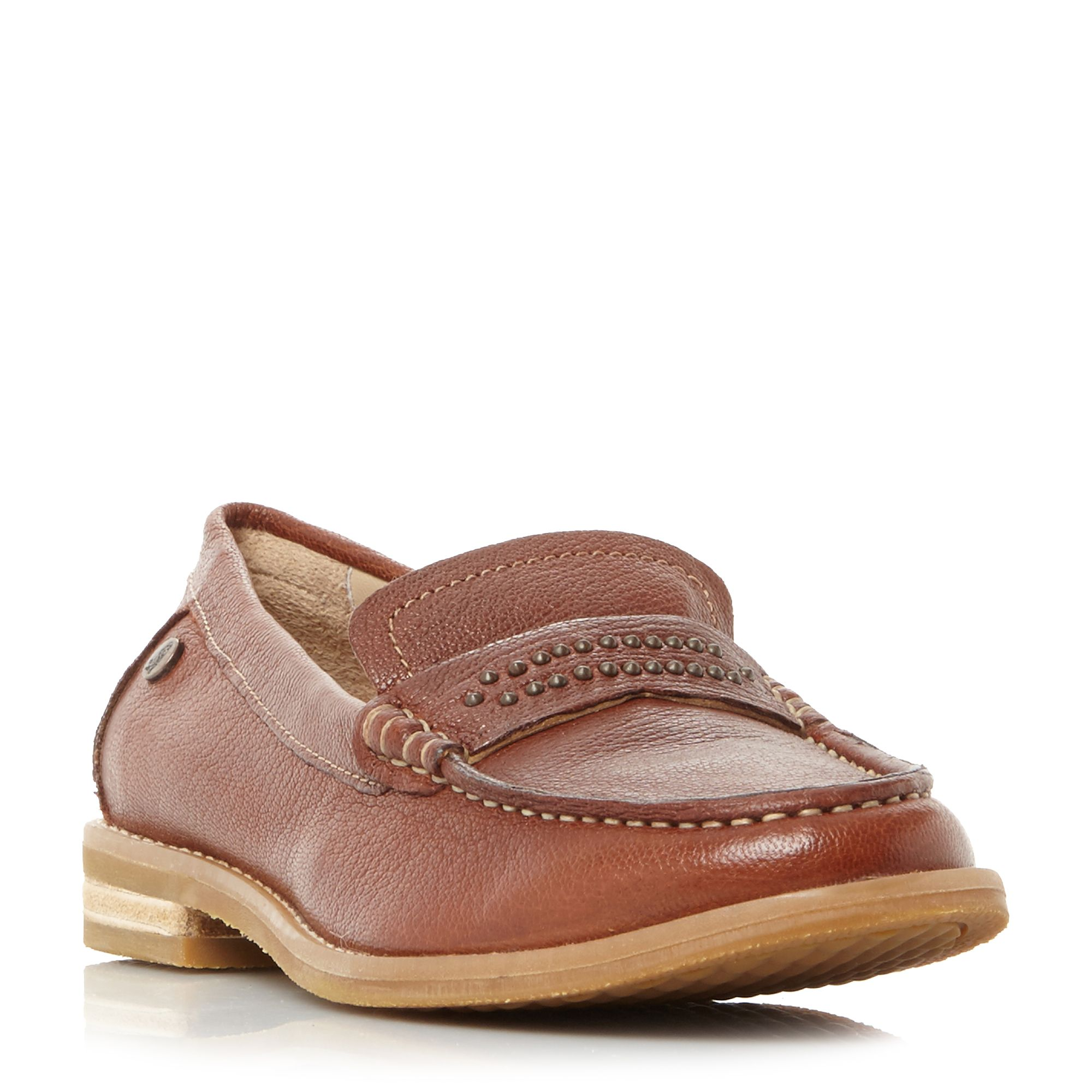 Hush Puppies Aubree Chardon Loafer Shoes, Tan