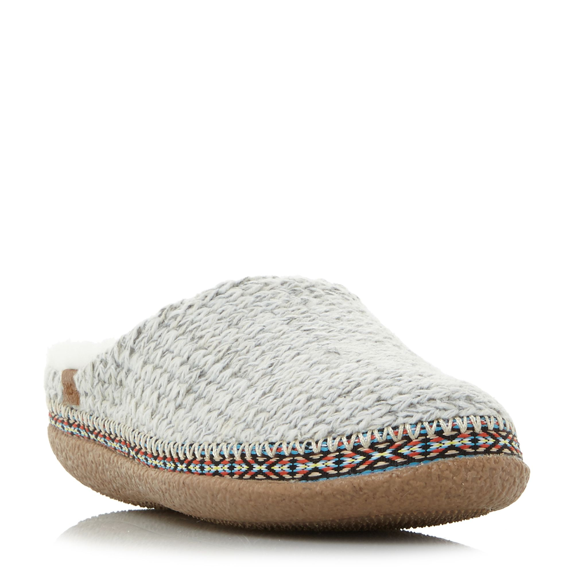 Toms Ivy Mule Wool Slippers, Off White