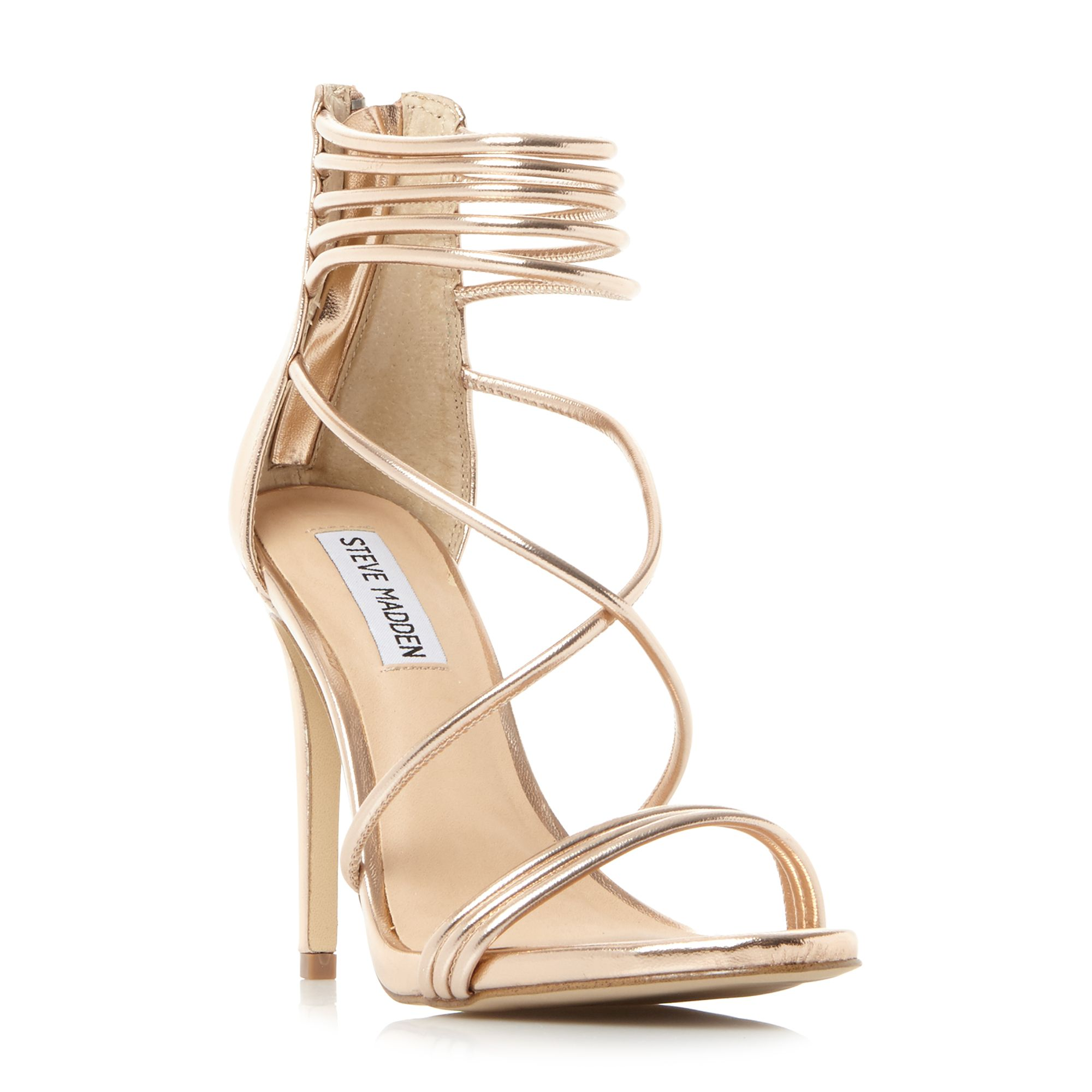 Steve Madden Answer SM Strappy Ankle Sandals, Rose