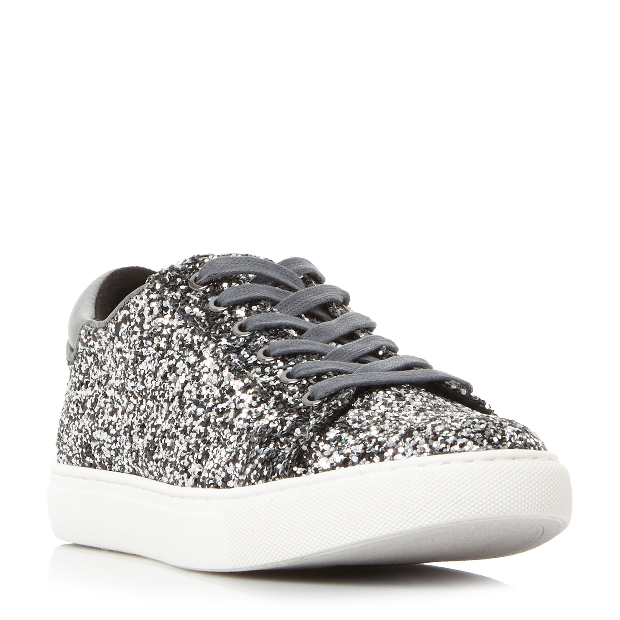 Kenneth Cole Kam Cupsole Trainers, Pewter