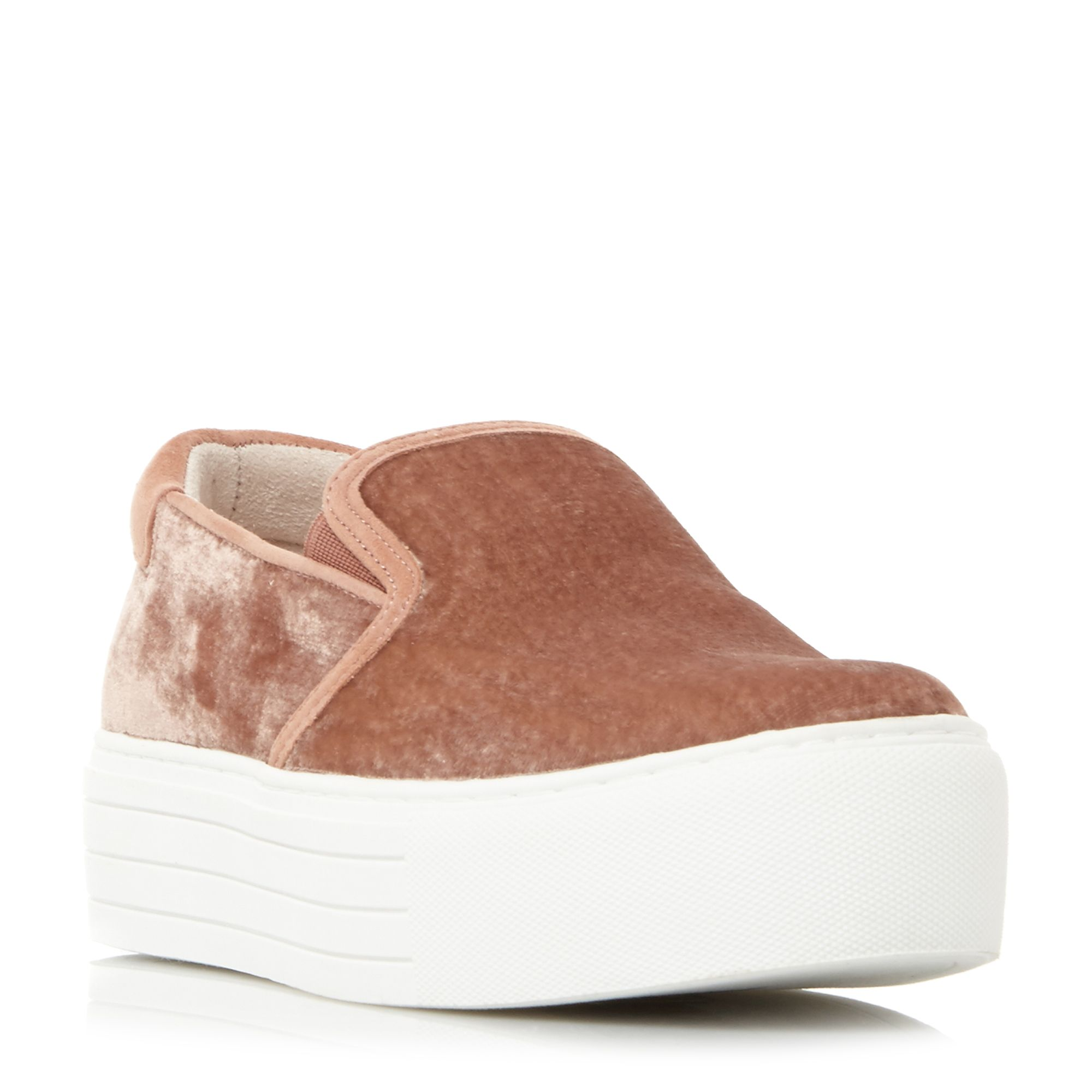 Kenneth Cole Joanie Flatform Slip On Trainers, Pink