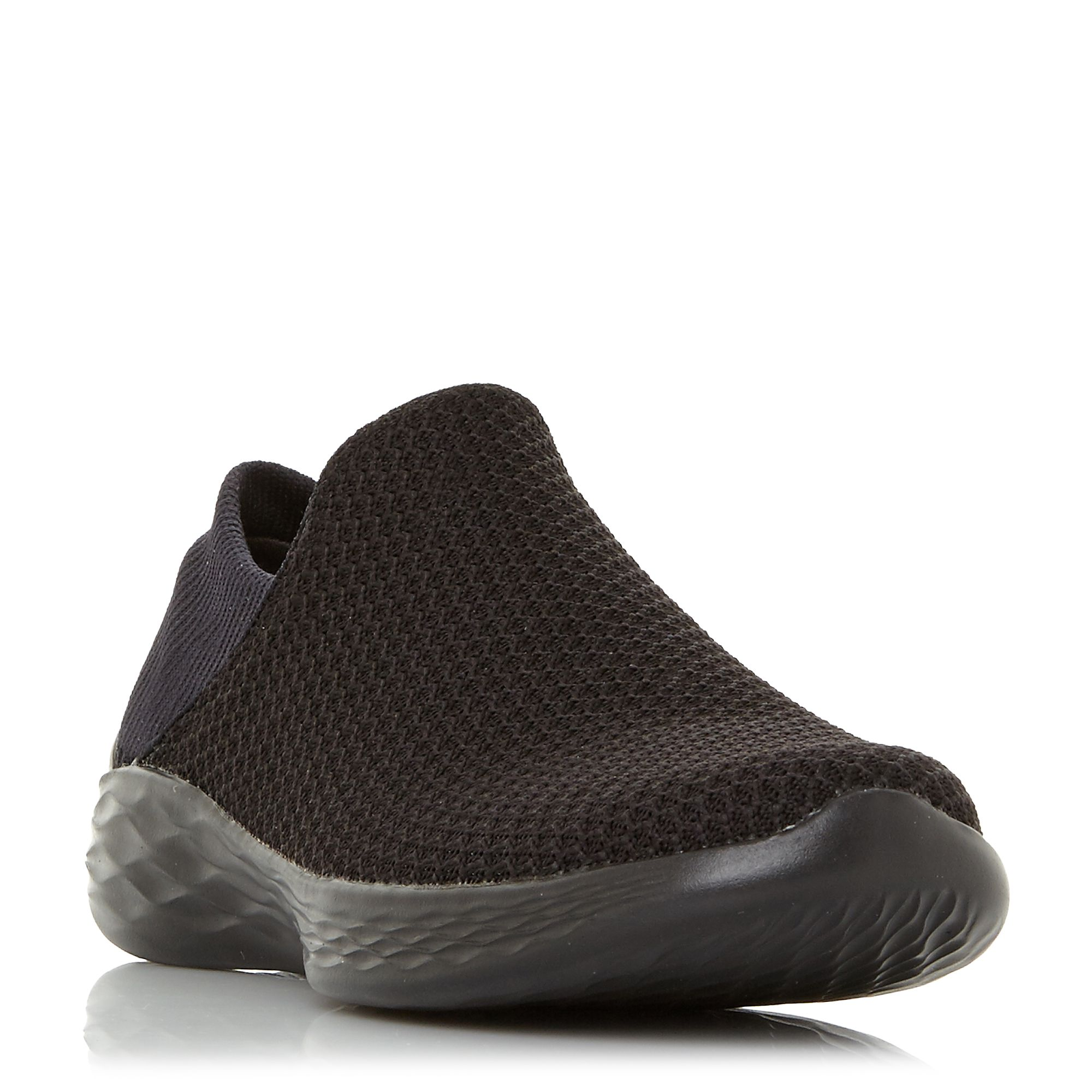 Skechers You Gore Slip On Trainers, Black