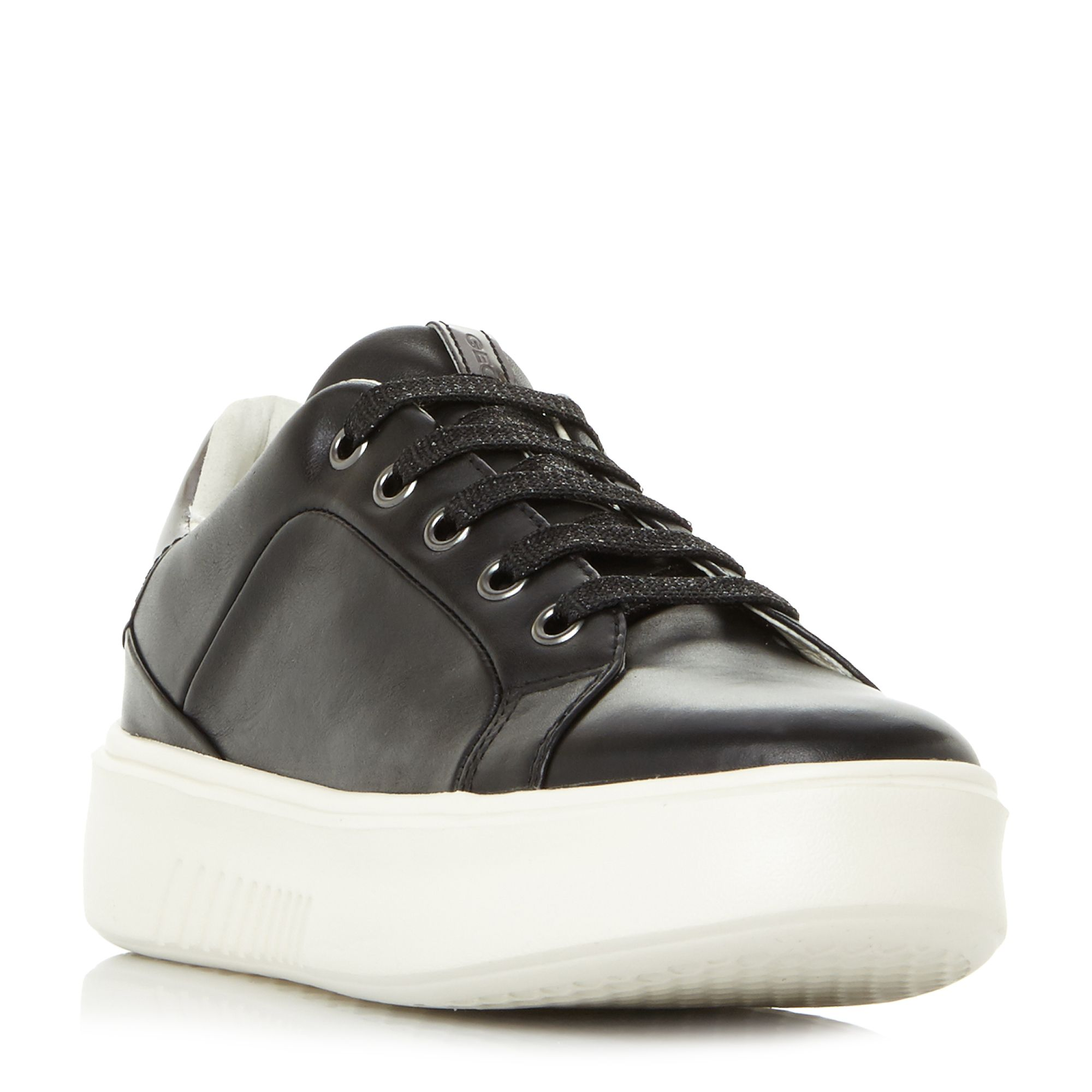 Geox D Nhenbus A Exaggerated Sole Trainers, Black